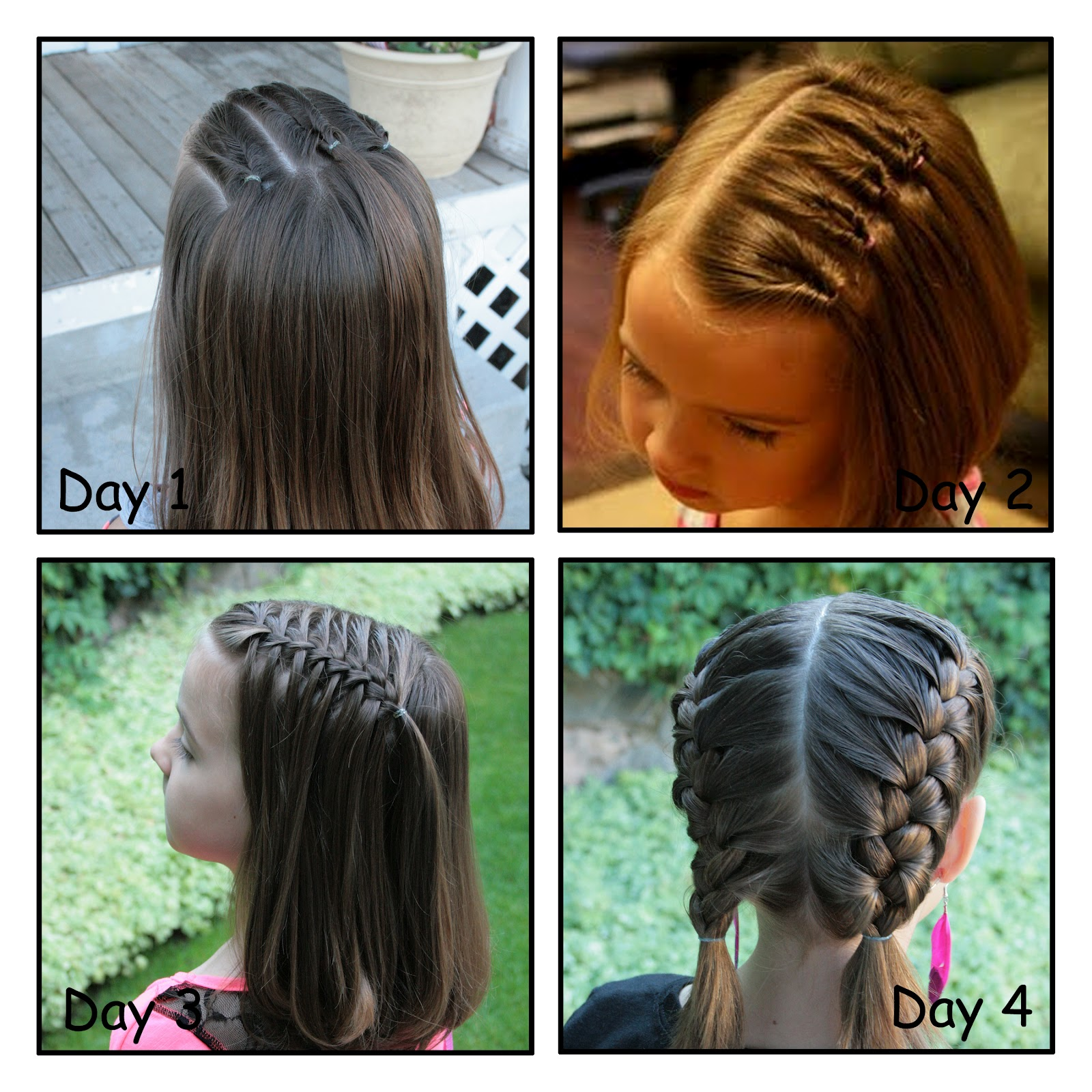 Hairstyles For Short Hair Easy For School : Girly Do Hairstyles: By Jenn: Back to School