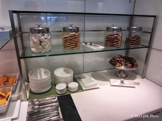 JAL Business Class trip report on JL061 - Desserts at oneworld Business Class Lounge at Los Angeles TBIT