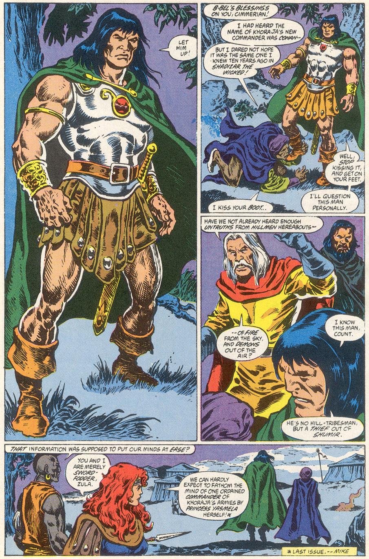 Conan the Barbarian (1970) Issue #249 #261 - English 4