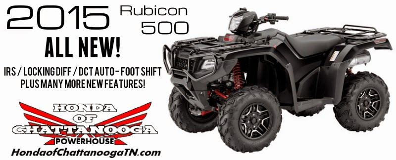 2015 Honda Four Wheeler Models Rubicon 500 Price For Sale TN GA AL