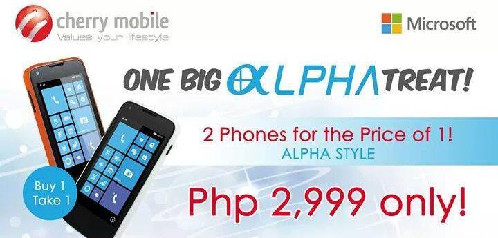 Cherry Mobile One Big Alpha Treat