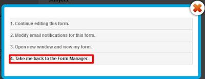 Publicar formulário