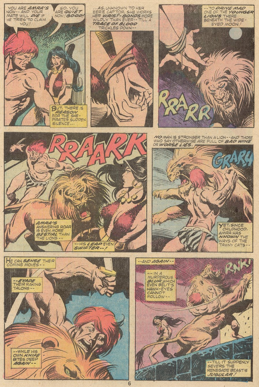 Conan the Barbarian (1970) Issue #63 #75 - English 5
