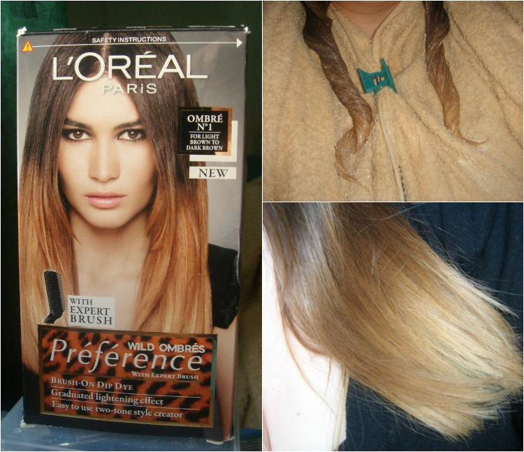 How-to Ombre: L'Oreal Wild Ombres Kit Review.