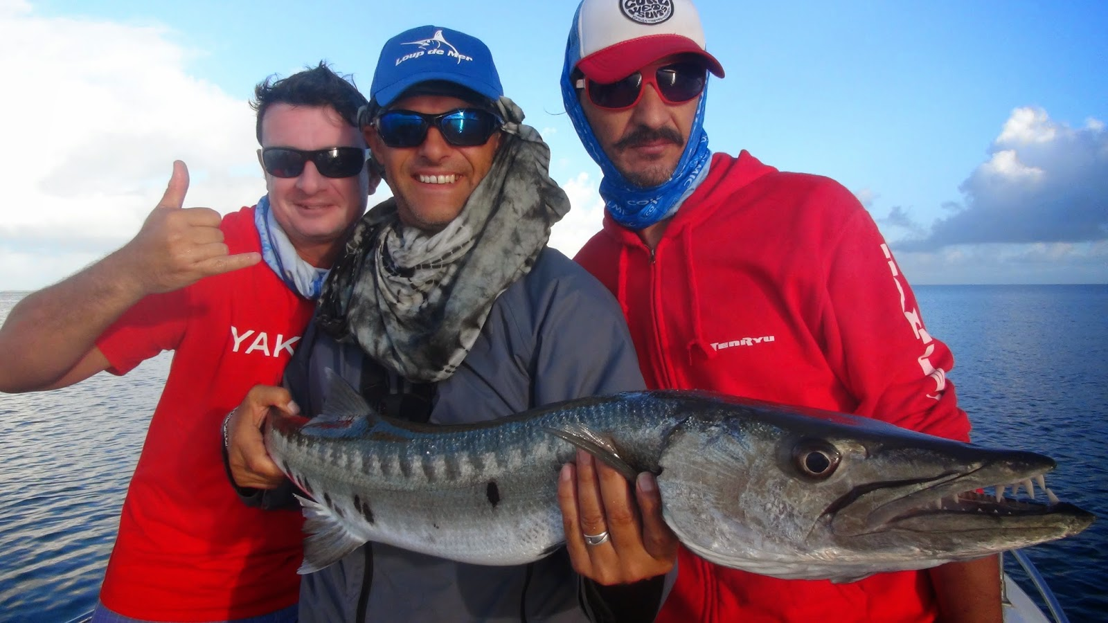 Le programme le détiré du poisson dans la pêche russe