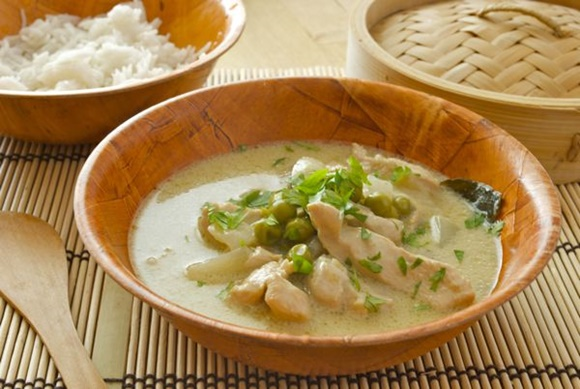 Curry Verde De Pollo Tailandes