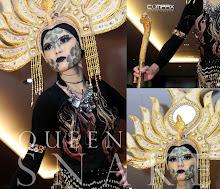 Queen Snake Makeup