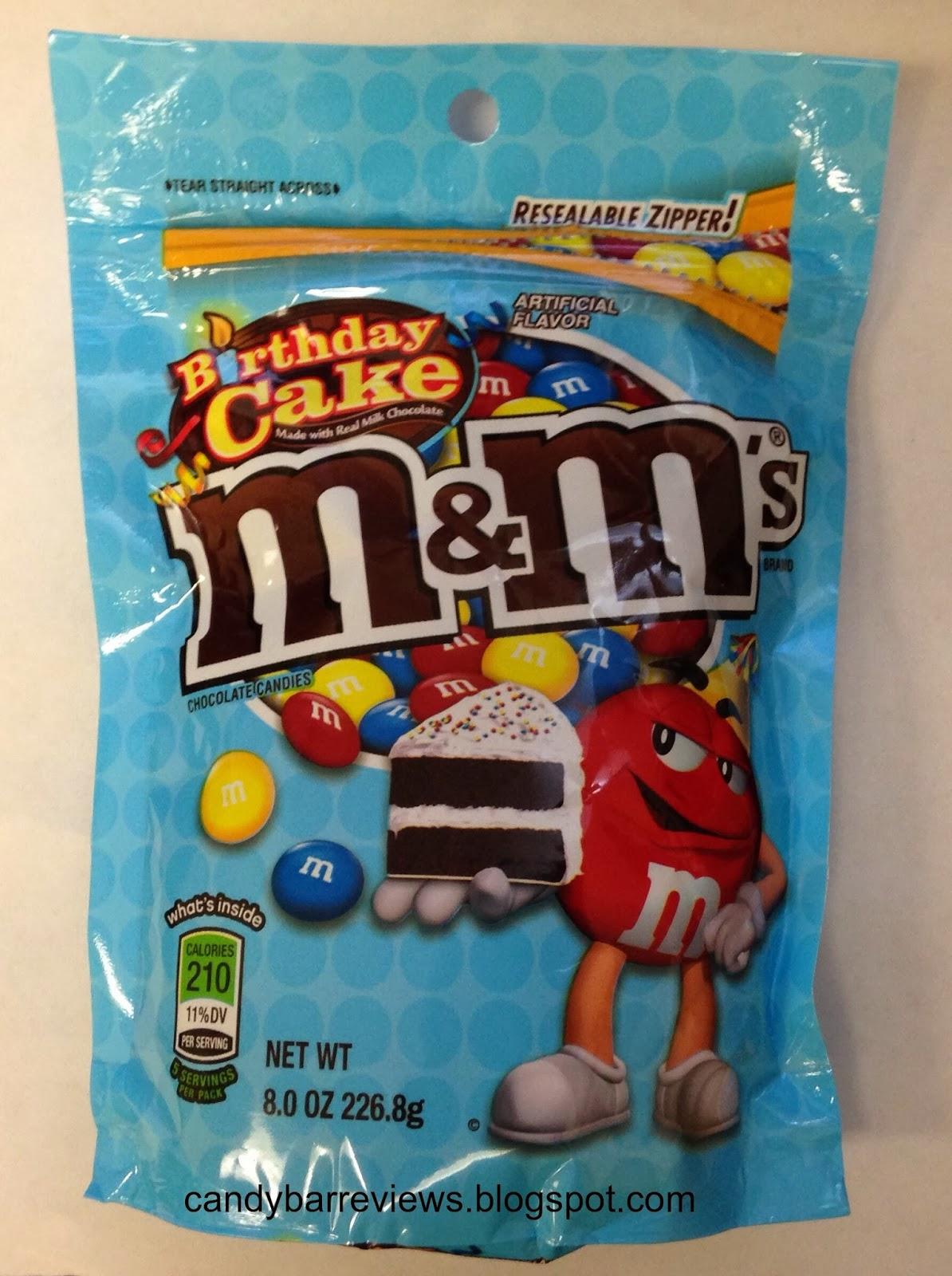 Candy Bar Reviews Birthday Cake Mms