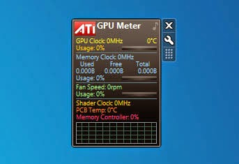 GPU Meter Gadget For Windows 7 x64Bit