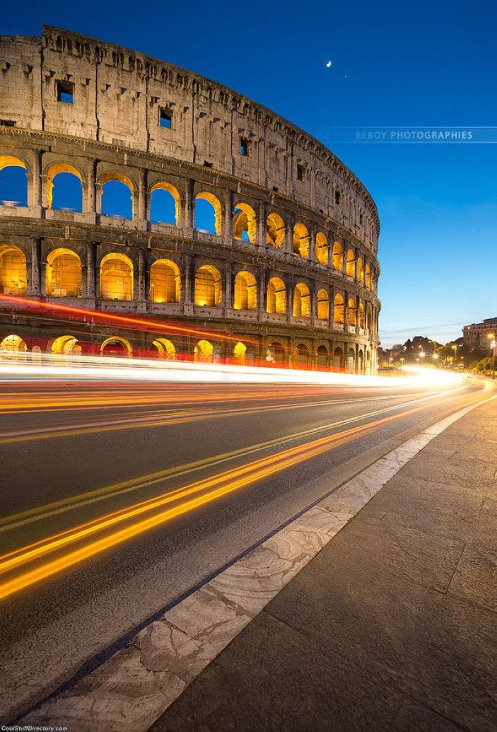 7. Coliseum, past and future ! by Beboy Photographies