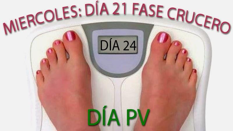dieta dukan con Claudia día 24