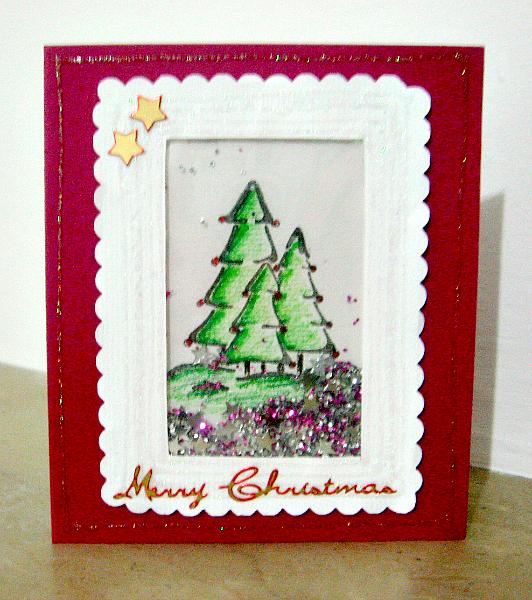"""Tutorial: Card natalizia con Shaker Box - by Desi di """"Italian Scrapaholic Gal"""""""