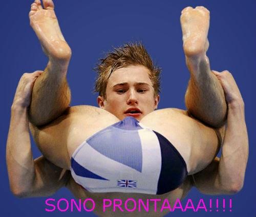 gay swimmer