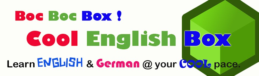 COOL English BOX
