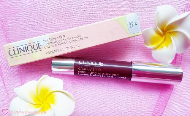 Clinique Chubby Stick Moisturizing Lip Colour Balm Richer Raisin Review Pinkuroom