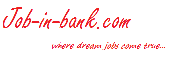 Job-In-Bank.com: Latest Bank Jobs, IBPS Jobs