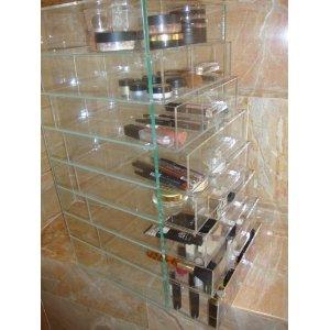 Makeup Organization Clear Acrylic Makeup Organizer - Clear acrylic makeup organizer