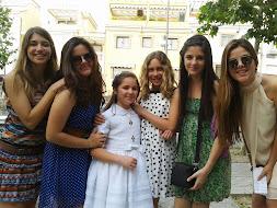 Mis 6 sobrinas, comunión de Ángela.2013.