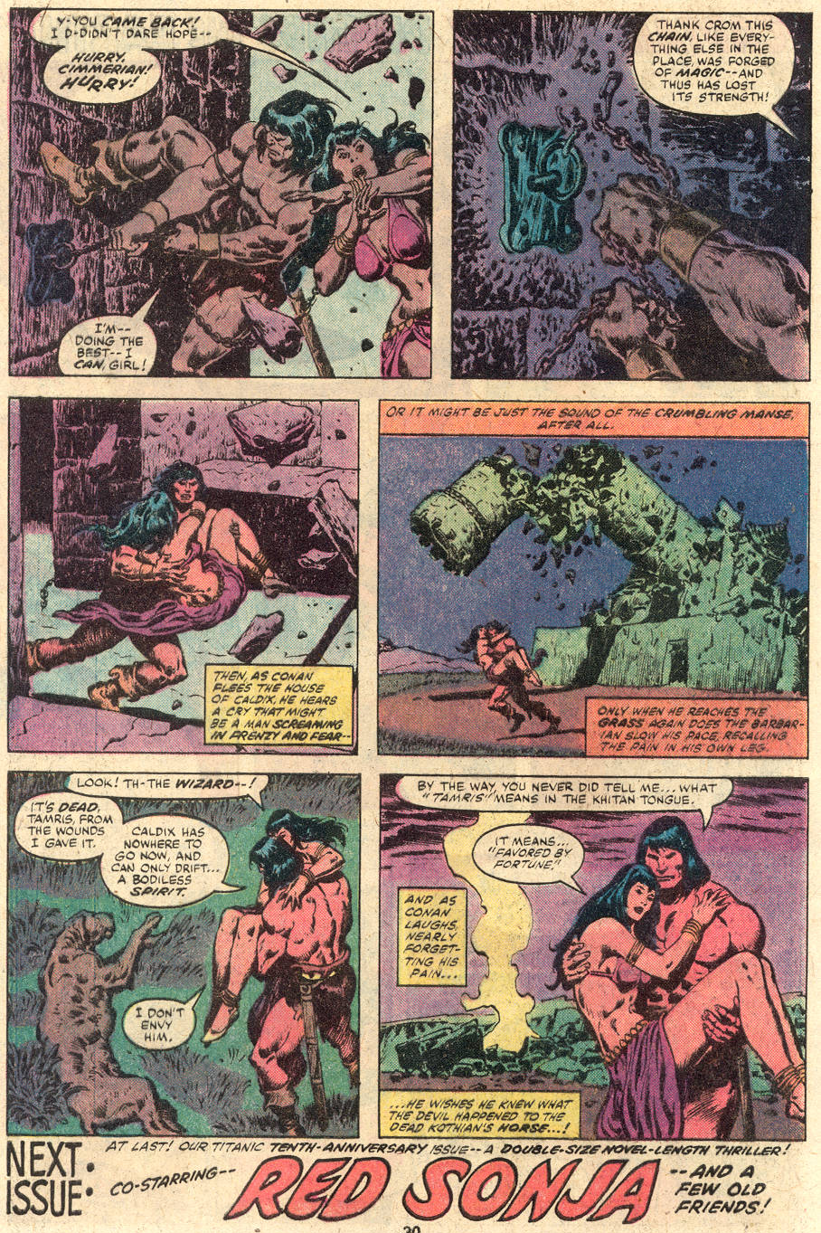 Conan the Barbarian (1970) Issue #114 #126 - English 18