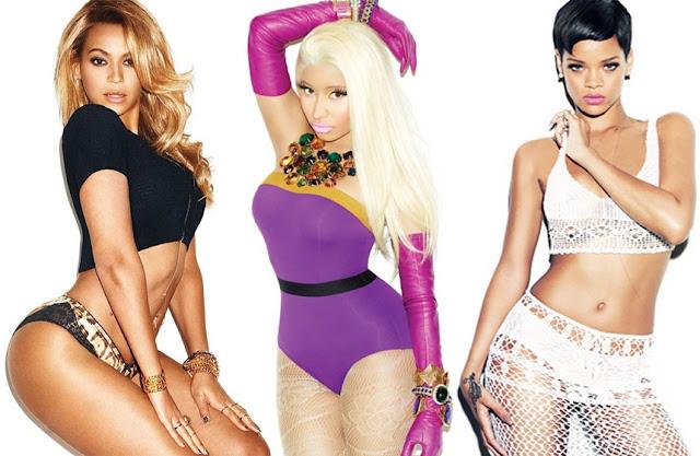 ¿Rihanna, Beyoncé y Nicki Minaj en el mismo estudio?