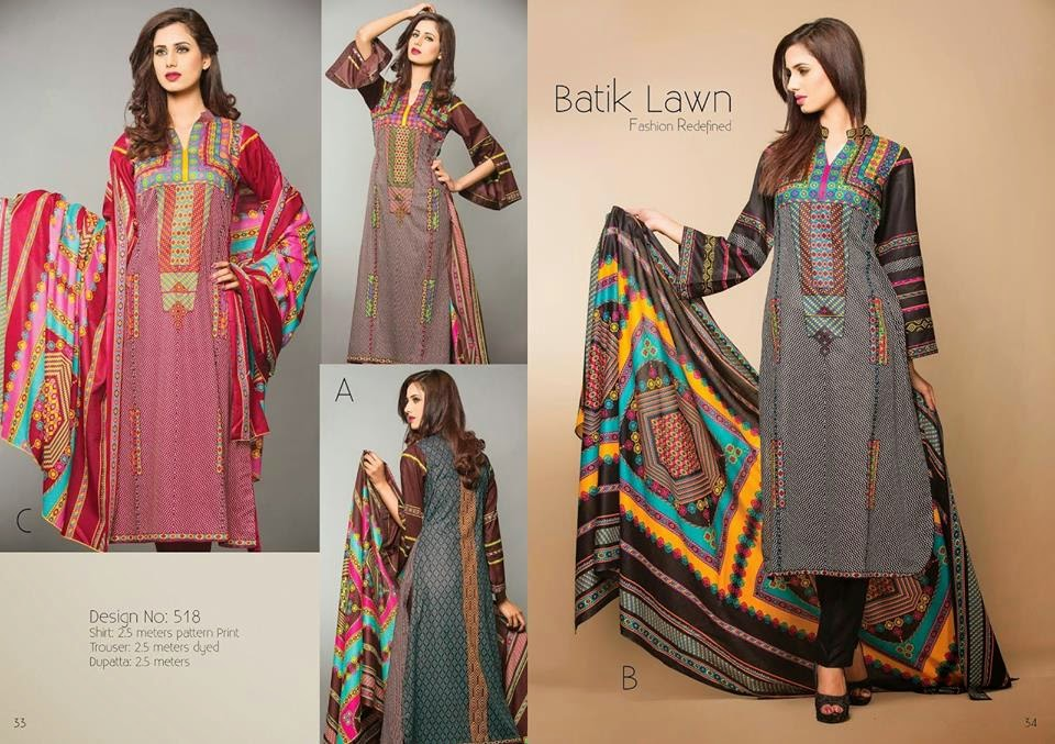 Latest Summer Lawn Collection 2015