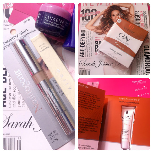 New Beauty Test Tube Box Review -  July August 2012