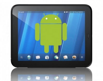 HP TouchPad Android