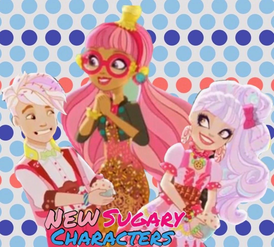 New Sugary Characters!