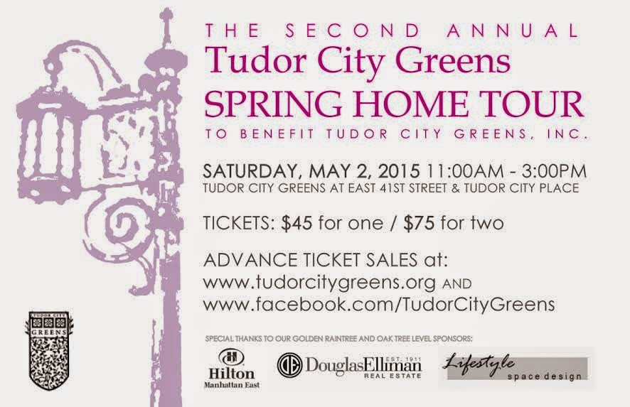 Tudor City Greens Spring Home Tour Invite