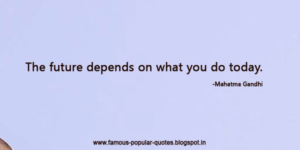 Quotations of Mahatma Gandhi