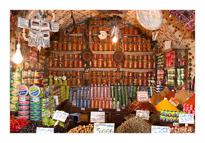 {Private collection} Unpackaged Morrocan corner shop
