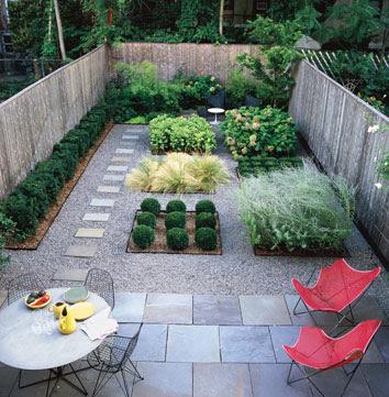 Enterreno algunos ejemplos de jardines que puedo dise ar for Jardines con maicillo