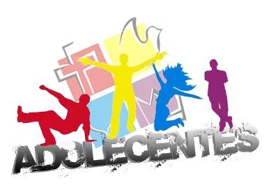 Tema adolescente de grupo de iglesia