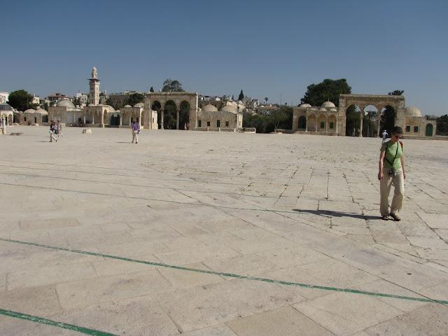 Israel, Jerusalén - Explanada de las mezquitas