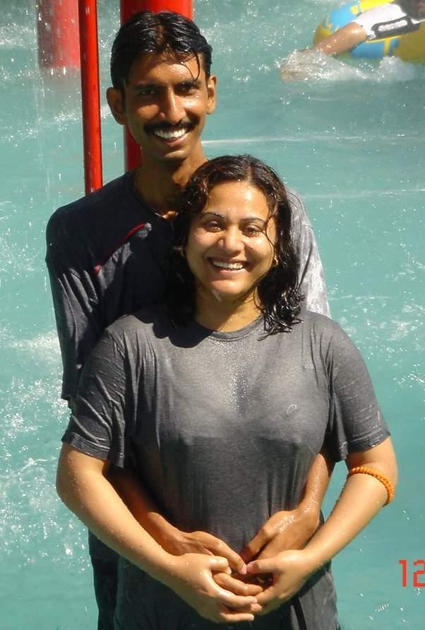 Indiane villege bathing clip