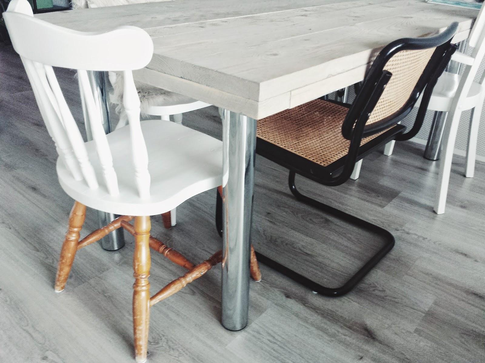 Eiken Keuken Verven Thuis : Op weg naar thuis Take a seat Stoelendans