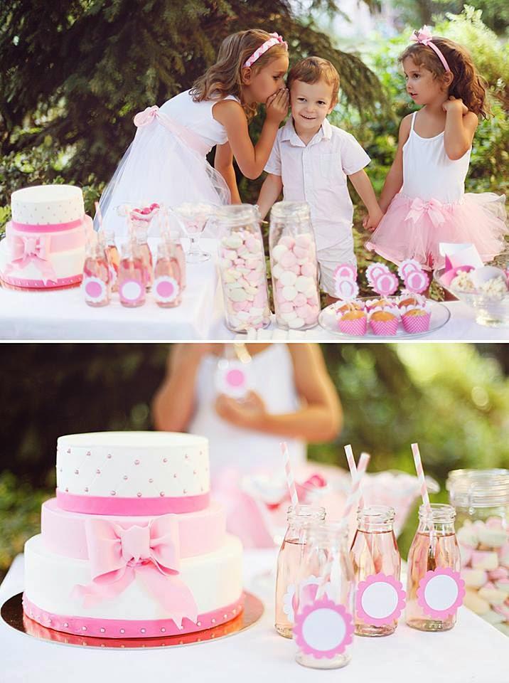 Rózsaszín születésnapi hangulat