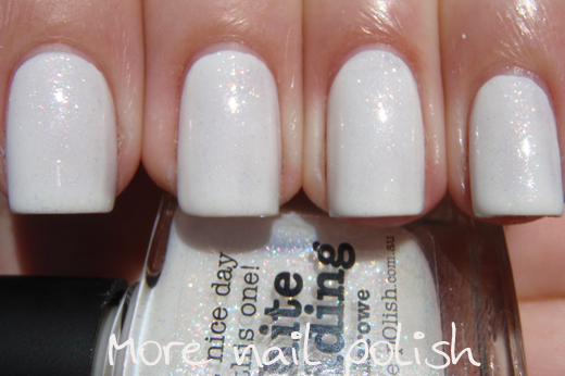 how to make nail polish look not shiny