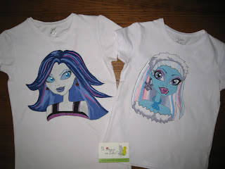camiseta-monster-high-pintadas-a-mano