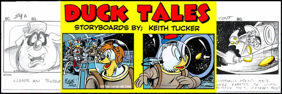 Keith Tucker Storyboard Art