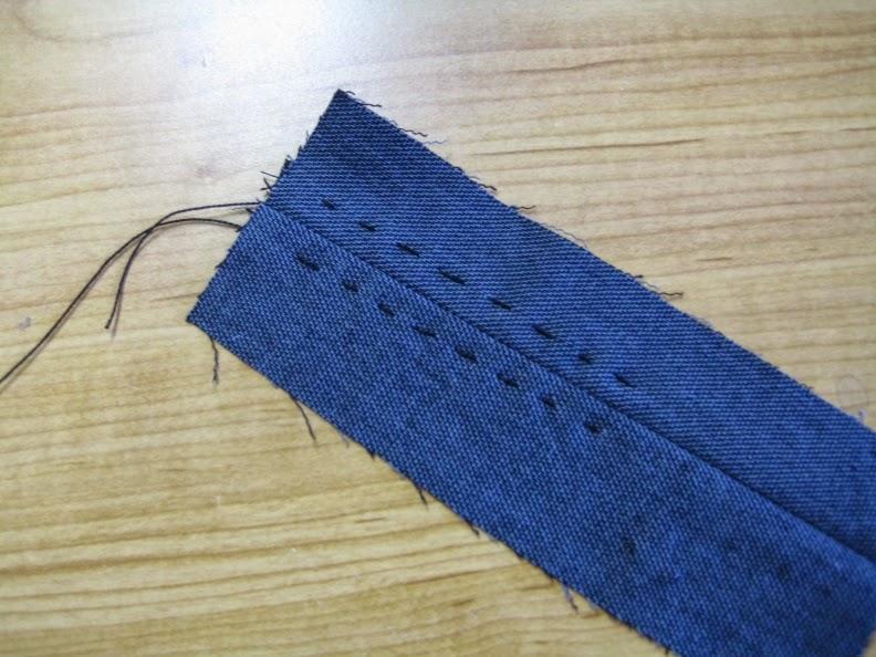 Myrna giesbrecht hand sewing running stitches