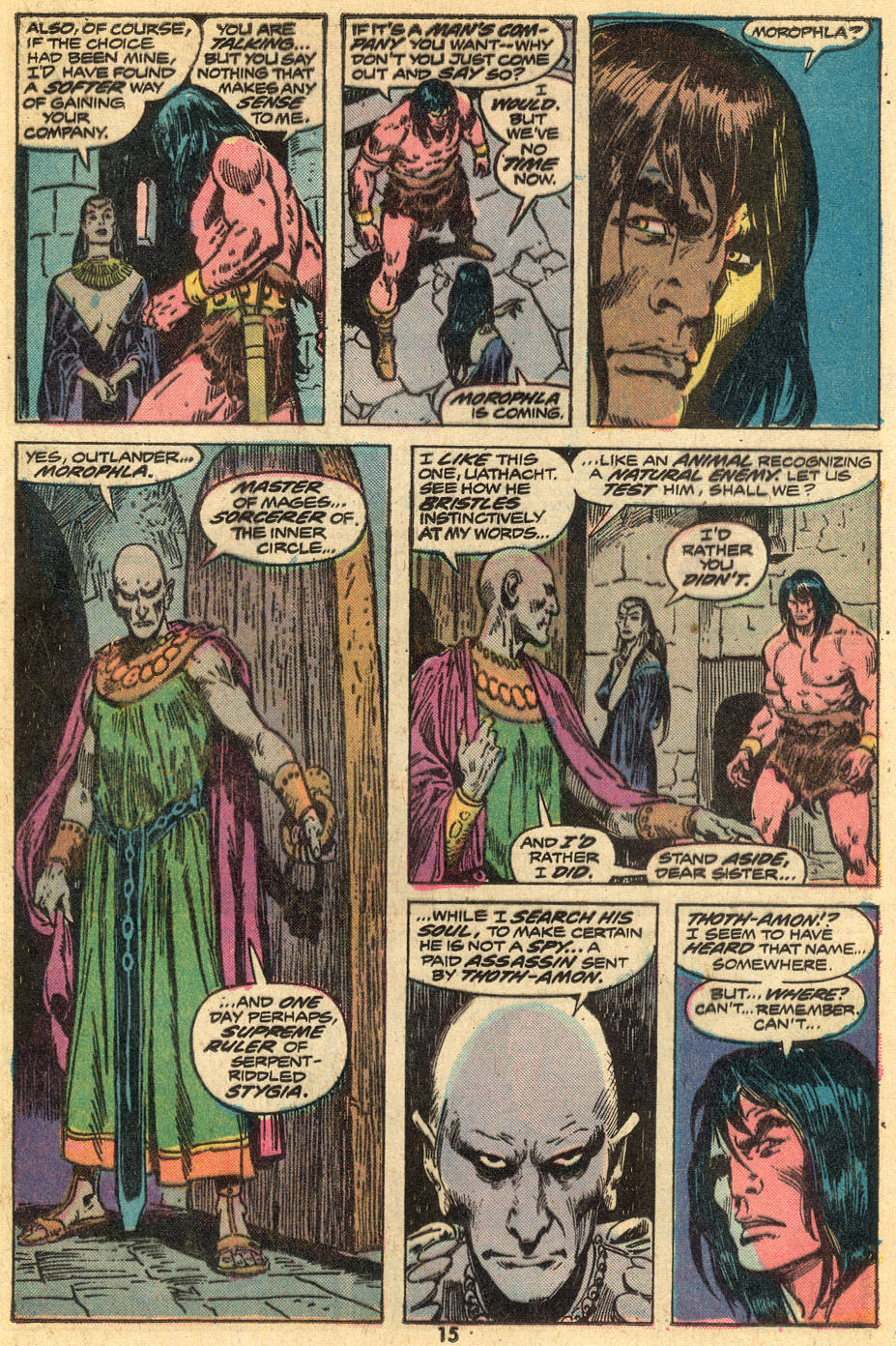 Conan the Barbarian (1970) Issue #43 #55 - English 10