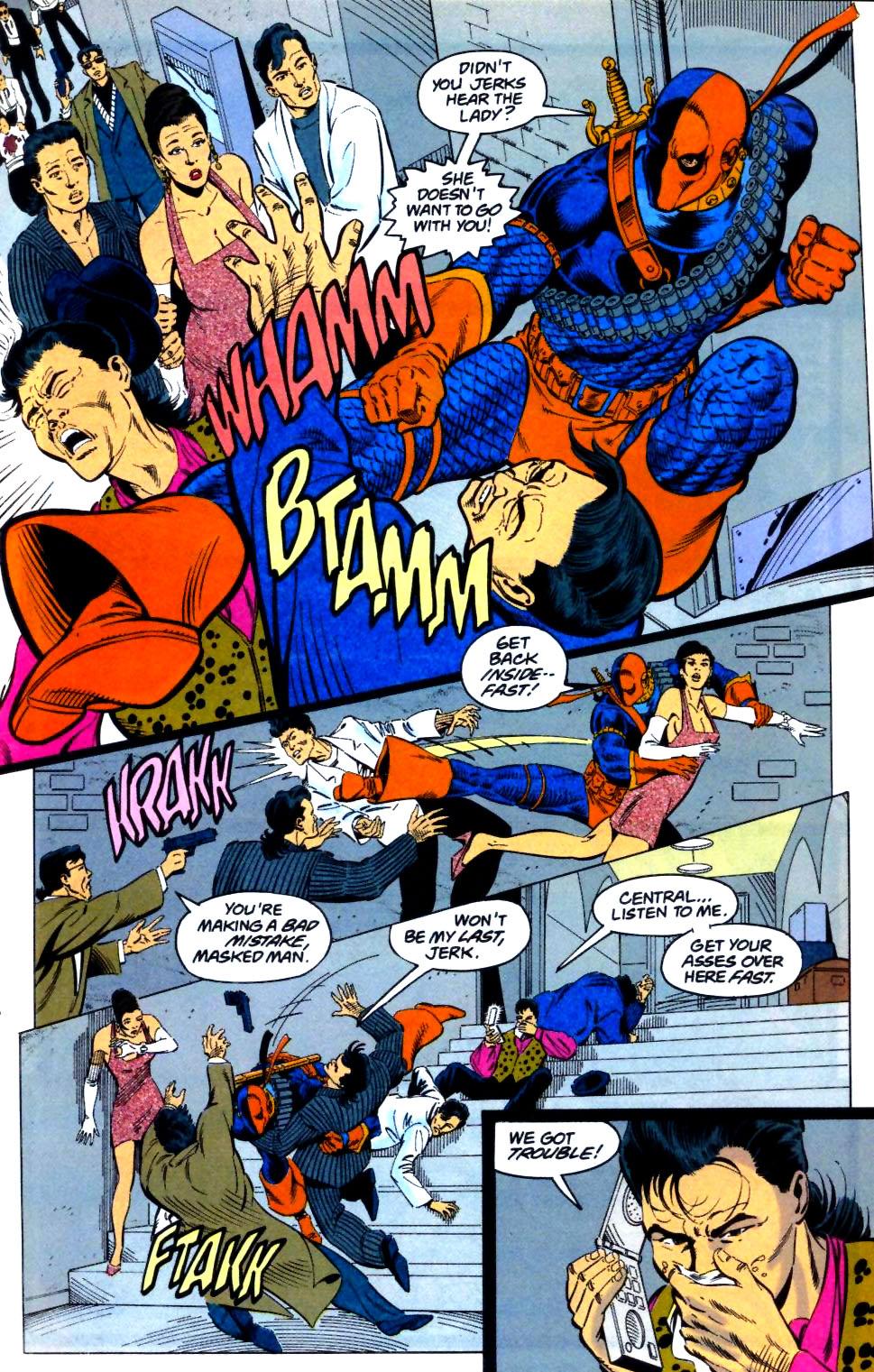 Deathstroke (1991) Issue #29 #34 - English 6