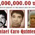 Suprema Corte revoca amparo a Caro Quintero