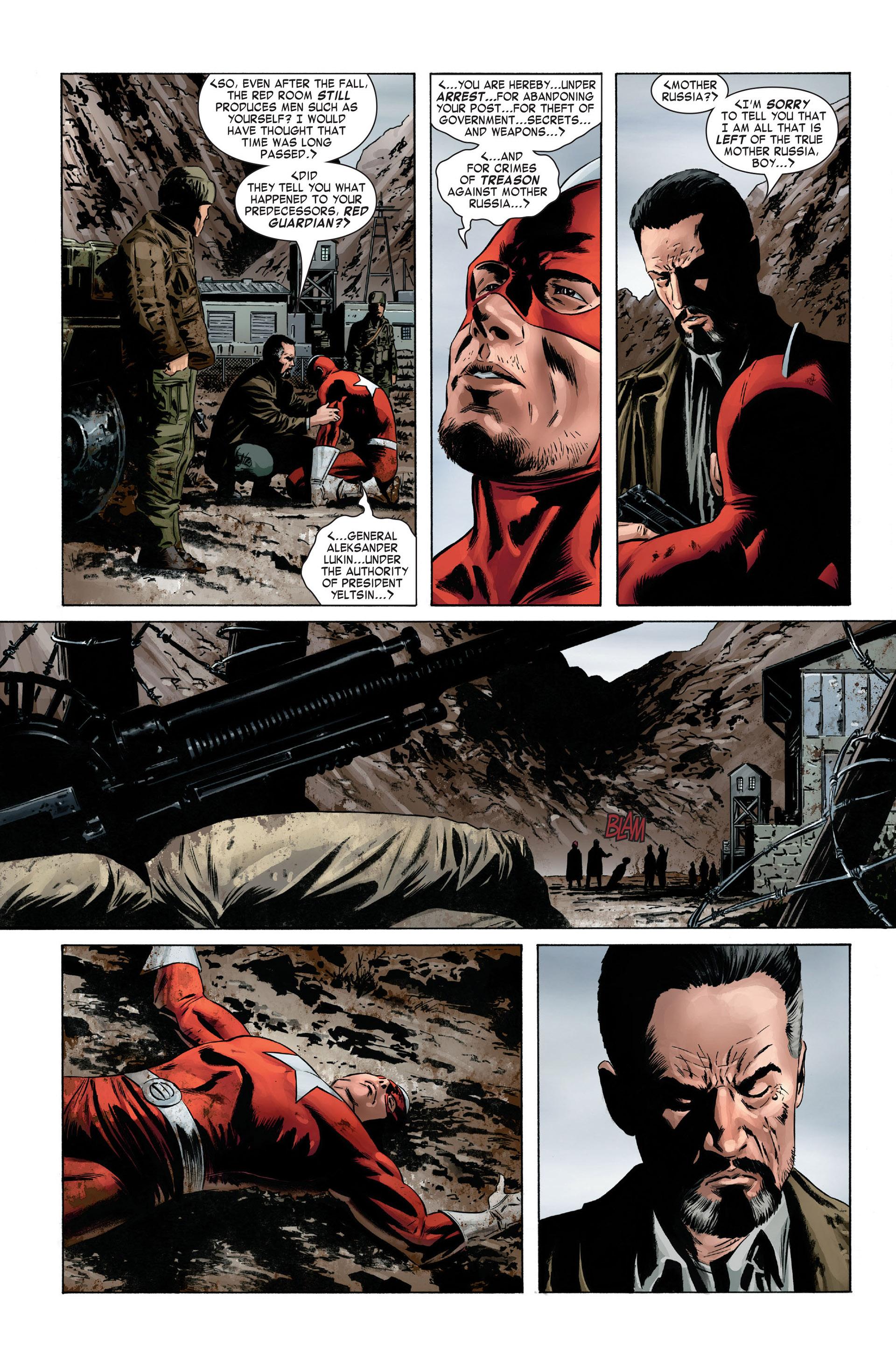 Captain America (2005) Issue #1 #1 - English 3
