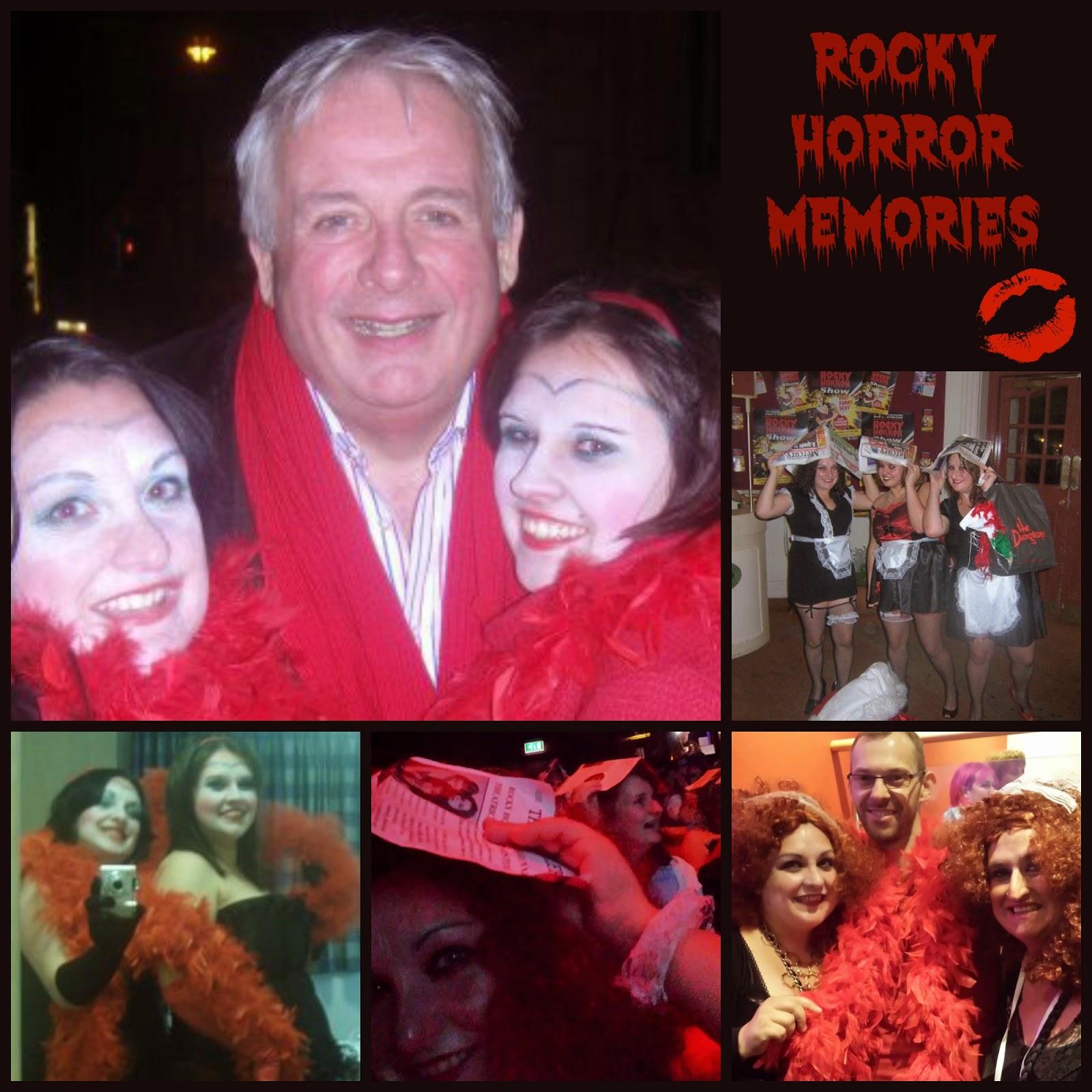 Halloween Rocky Horror Magenta Rimmel Make Up Look Memories