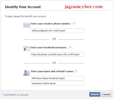 Cara mudah Hack Facebook, Ampuh!