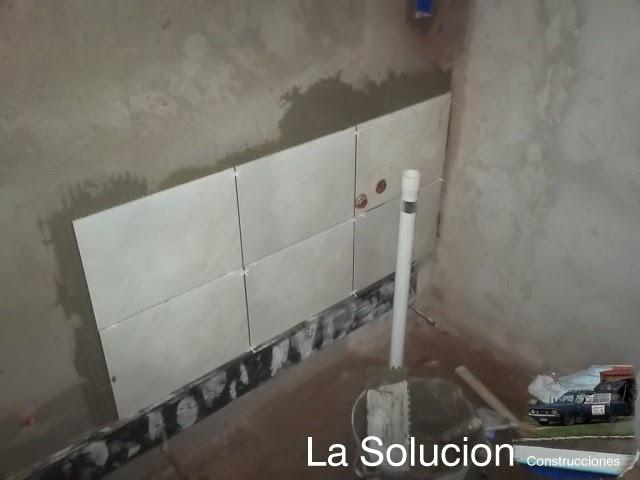 Revestimiento de ba os huecos de plomeria dormitorio for Revestimiento de banos