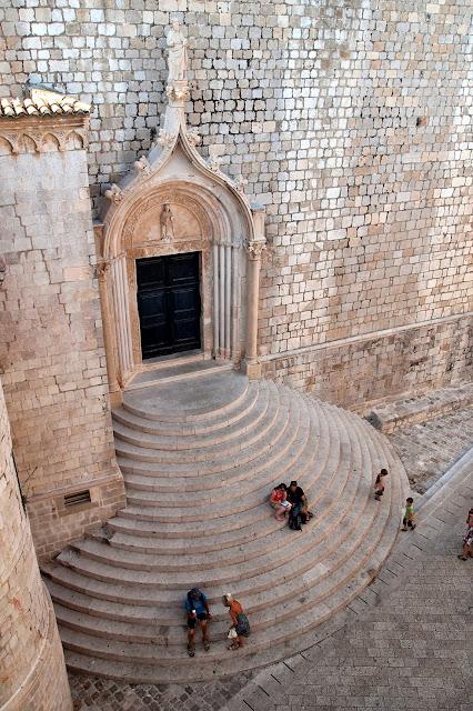 View from Dubrovnik city walls, Croatia
