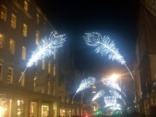 New Bond Street Christmas Lights 2015